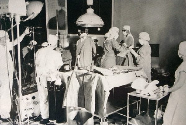 Busy Operating Theatre
